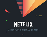 Netflix TV Series / Color Palette Concept