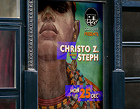 Christo Z Event Posters