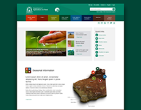 New Agric home page