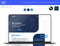 TalentQ / logo / oferta / wizytówka / onepage / brand