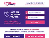 Rhino branding & webdesign