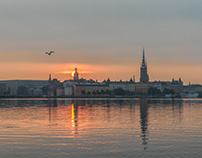 My home town Stockholm in different light.