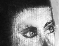 Subtractive Charcoal Drawing