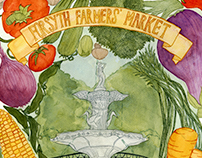 Promotional Poster for the Forsyth Farmers' Market