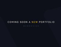 Coming soon a New portfolio