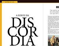 "Projeto Revista ""A Fonte da Discórdia"""