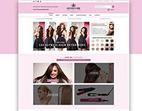 Webdesign for Lockstress Hair