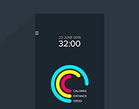 Accurun - An iOs running tracker app