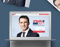 Primaire de la gauche : ManuelValls.fr