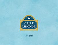 Illustrated book based on recurring dreams - Lirón 30.
