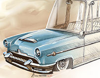 Surf Wagon Mercury (1954)