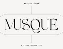 Unique Elegant Display Font