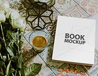 Realistic Book Mockup Template
