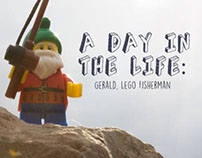 A Day In The Life: Gerald, Lego Fisherman