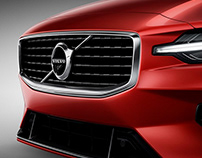 Volvo S60 Detail Shots - Retouching