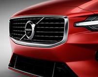 Volvo S60 Detail Shots - Retouching