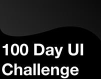 100 Day UI Challenge Reboot