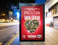 Van Gogh Concert visual