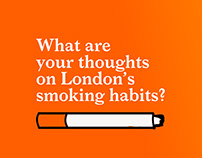Data Visualisation Campaign: London & Smoking