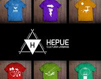 Diseño de Remeras para HEPUE