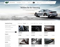 RUF Onlineshop Concept