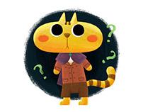 Confusing Big Face Cat/大脸猫