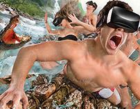 Scary Falls, virtual reality