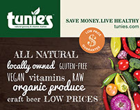 Ad Design for Natural Grocery & Vitamin Store