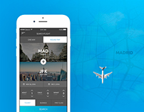 FlyAPP - Mobile App Design