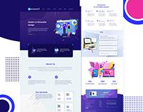 Digital Solutions website design