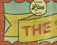 Show Backdrop / Banner - The Scrips String Band