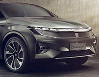 Byton Electric SUV Concept 2018