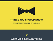 Cheeky A One-Page WordPress Theme