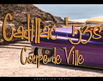 Cadillac Crazy Purple Coupe de Ville 53 - Part 01
