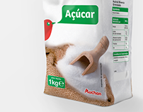 Açucar Auchan [packaging]