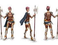 Lyra Character Turnaround