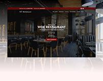 Wok restaurant template