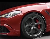 Alfa Romeo Infographic