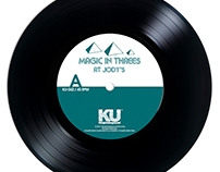 "Magic In Threes - 7"" on KIngUnderground"
