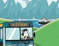 Kitsap Transit Coloring Book