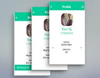 Sastra PWI | App UI Design