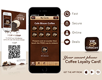 iPhone/Android/BB Application of Coffee Card