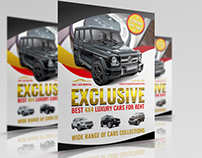 Rent a Car Flyer Template Vol.2