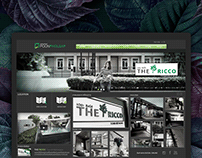 Design The Ricco Town Website By Poonpholsap Project