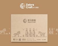Zebra Craft Packaging Design