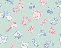 Baby seamless patterns