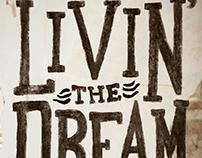 "Drake White ""Livin' The Dream"" Single Cover"