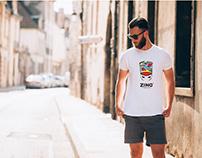 Zingba T-shirt Design