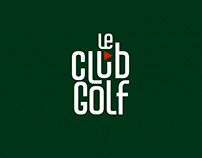 LeClub Golf - Branding
