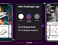 Nike Challenges app